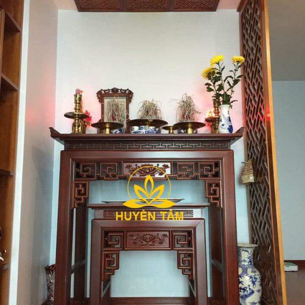 Mẫu tủ thờ dành cho nhà chung cư